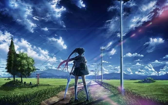 如果难过,就努力抬头望天空吧,望着望着就忘了……