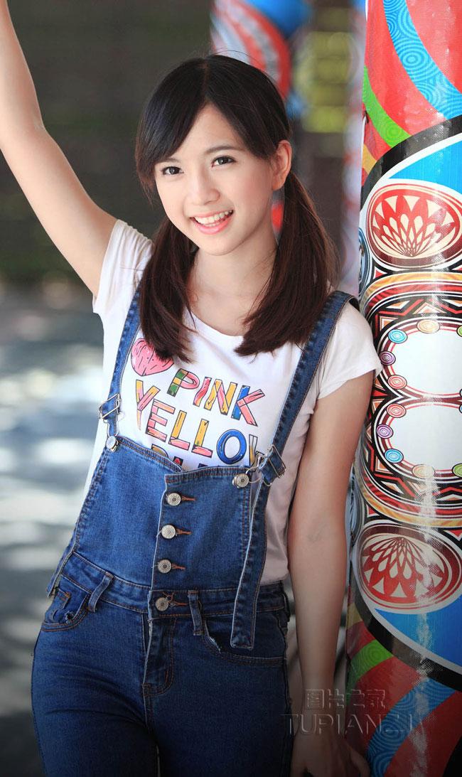 日本可爱少女素颜惊人:青少年少女素颜照