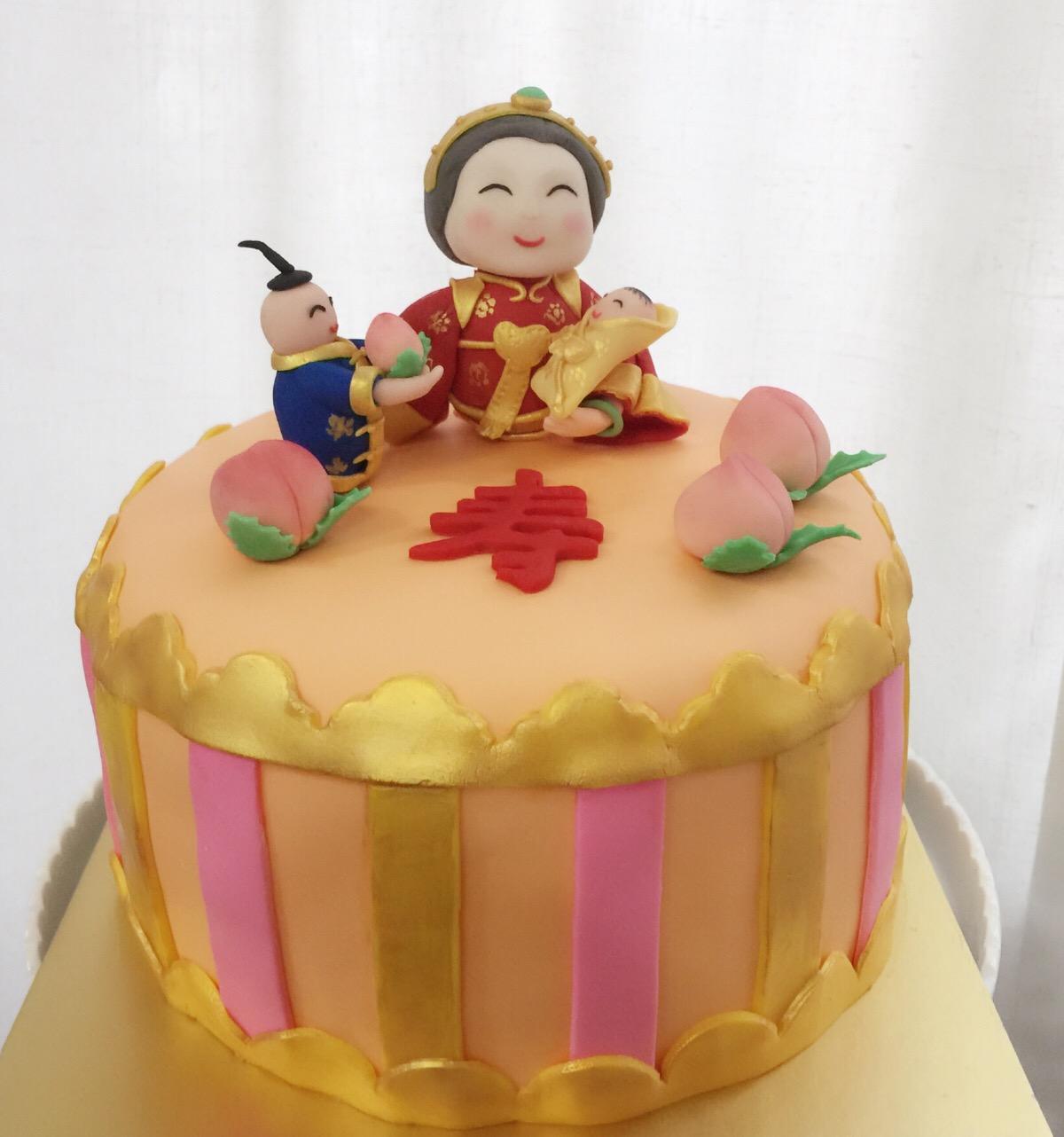 祝奶奶生日快乐! 福如东海 寿比南山