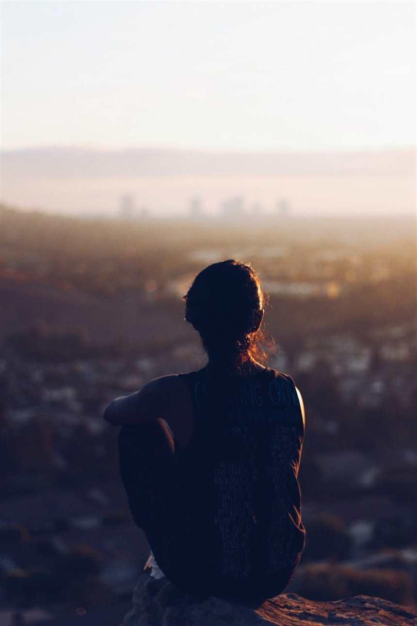 孤独一个人的文艺唯美图片
