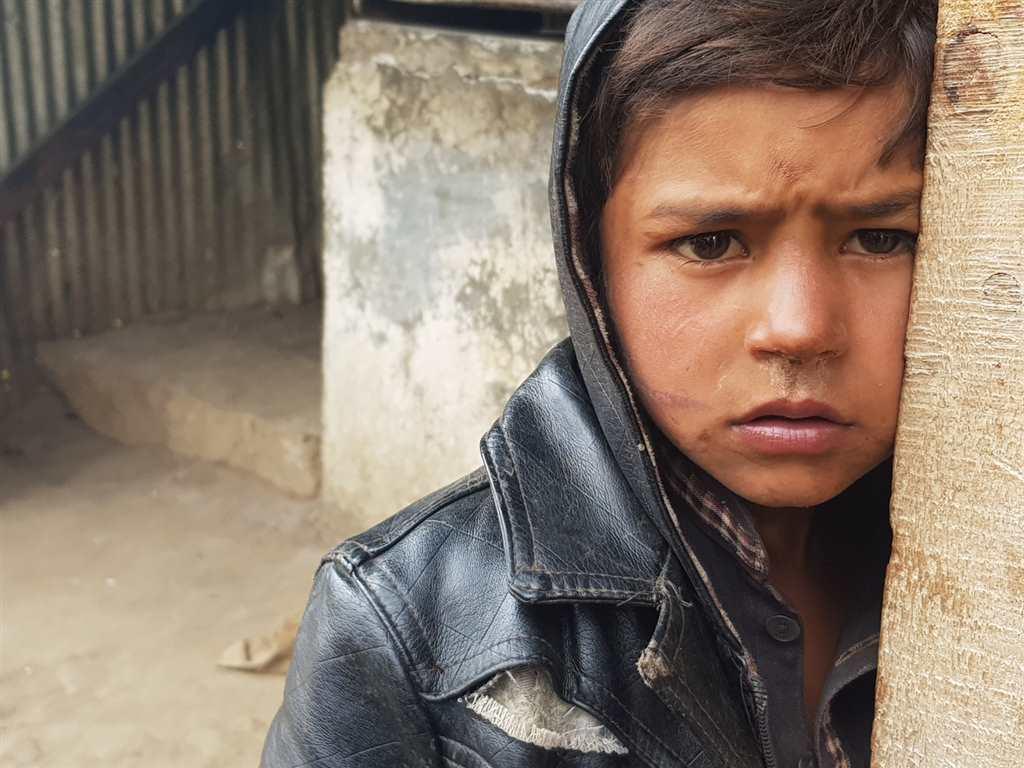 渴望的眼神,淳朴至极的山民#小孩#乡村