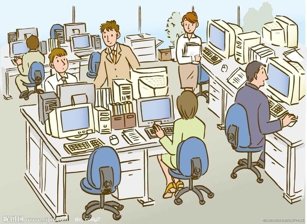 职场上谁都盼望自己能有升职的机会#卡通#手绘