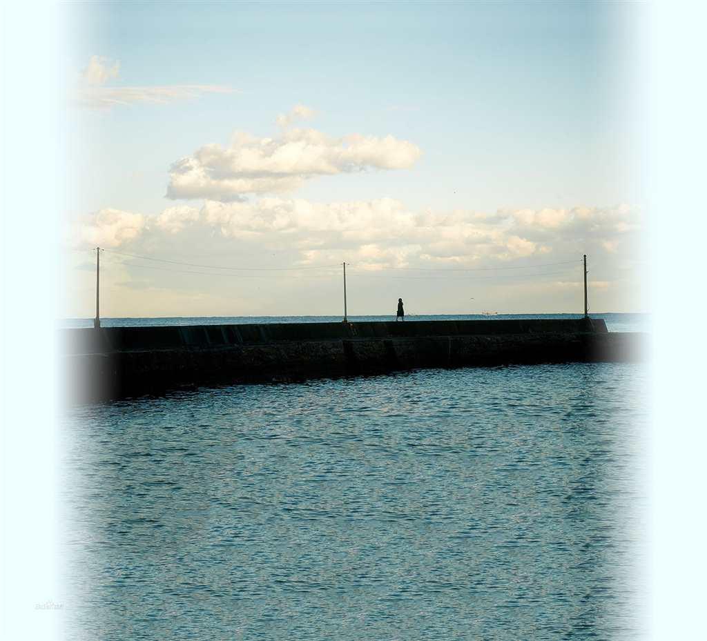 感受海的那一刻#大海#非主流